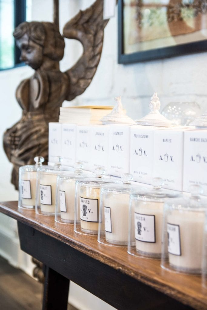 Astier de Villatte candles in Dixon Rye home decor store in Atlanta Westside Provisions District on Thou Swell @thouswellblog