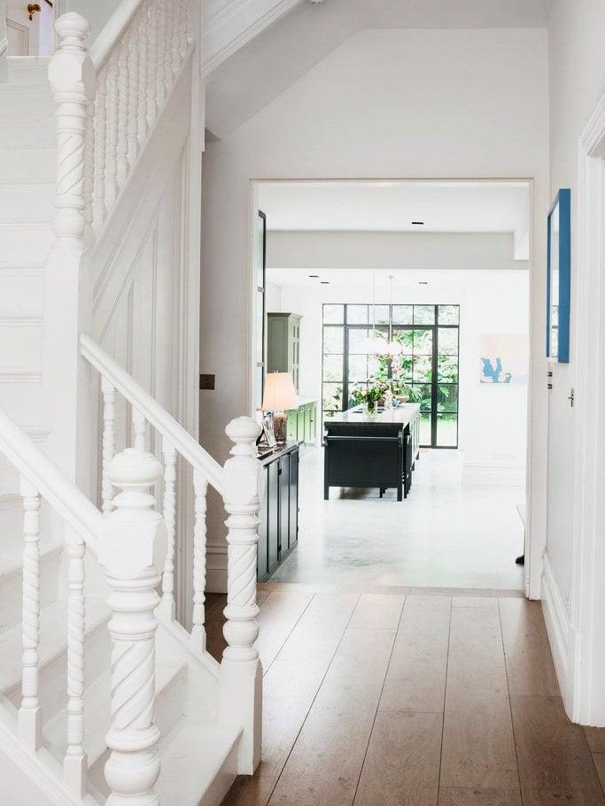 Step Inside A Modern London Townhouse Thou Swell