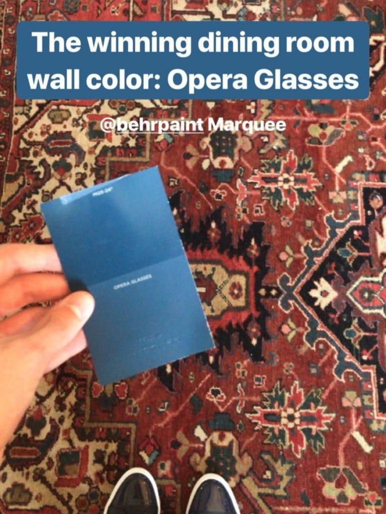 Behr Marquee Opera Glasses