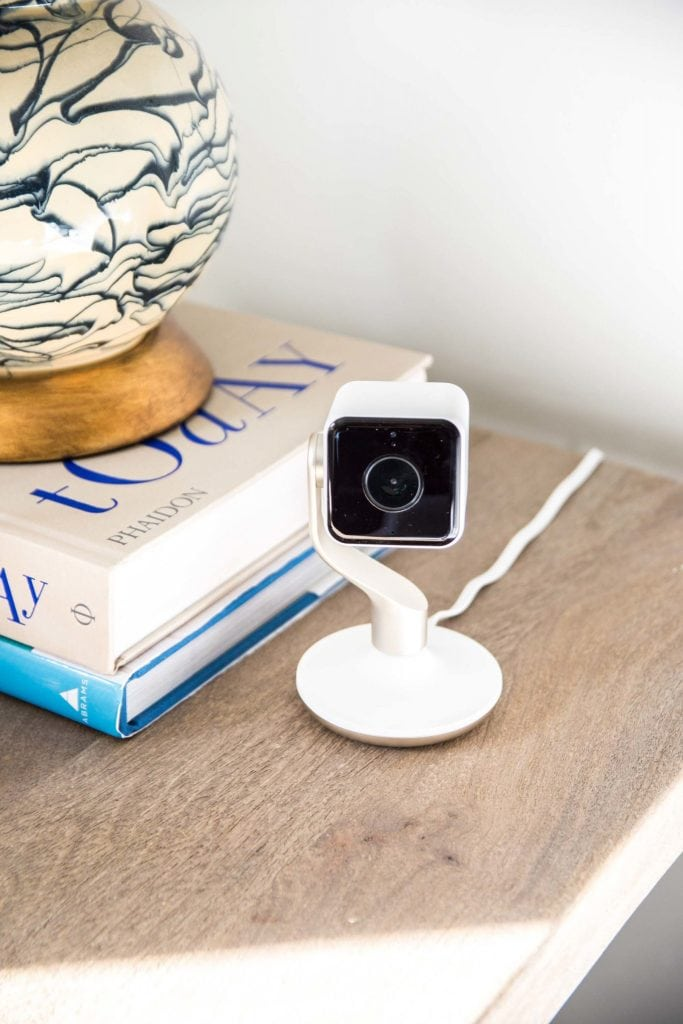 Watching the house and dog with Hive View smart indoor camera on Thou Swell @thouswellblog