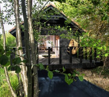 Bungalow suite at Molino Tejada in Cantabria, Spain on Thou Swell @thouswellblog