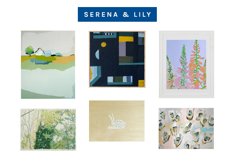 Best Online Art Sources - Serena & Lily