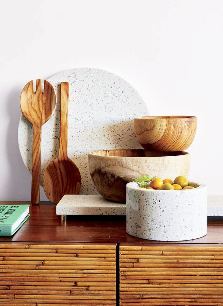 California-inspired kitchenware collection from CB2 x Fred Segal on Thou Swell @thouswellblog