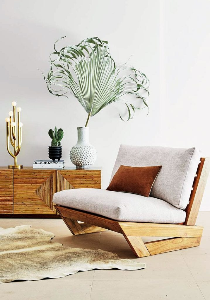 SoCal inspired furniture collection from CB2 x Fred Segal on Thou Swell @thouswellblog