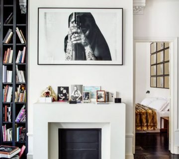 At home with Franca Sozzani in her Paris townhouse via Thou Swell @thouswellblog