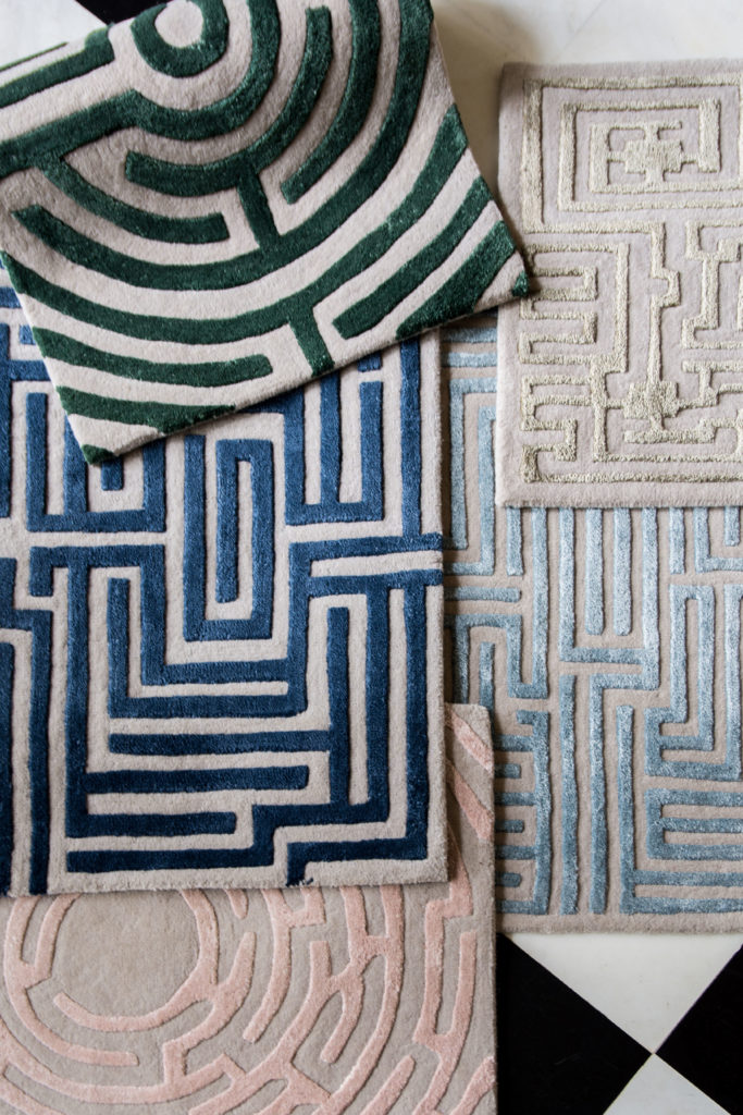 The Labyrinth Collection by Kevin Francis Design