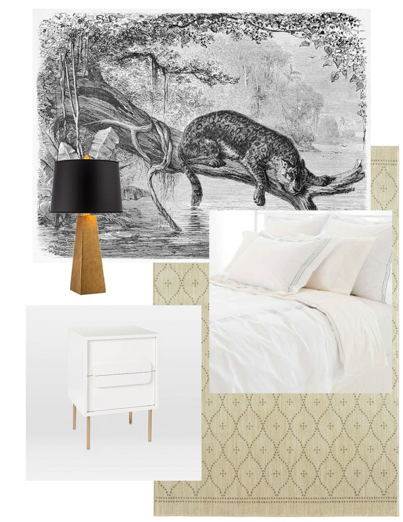 Corell Apartment Design - Kevin's Bedroom Board