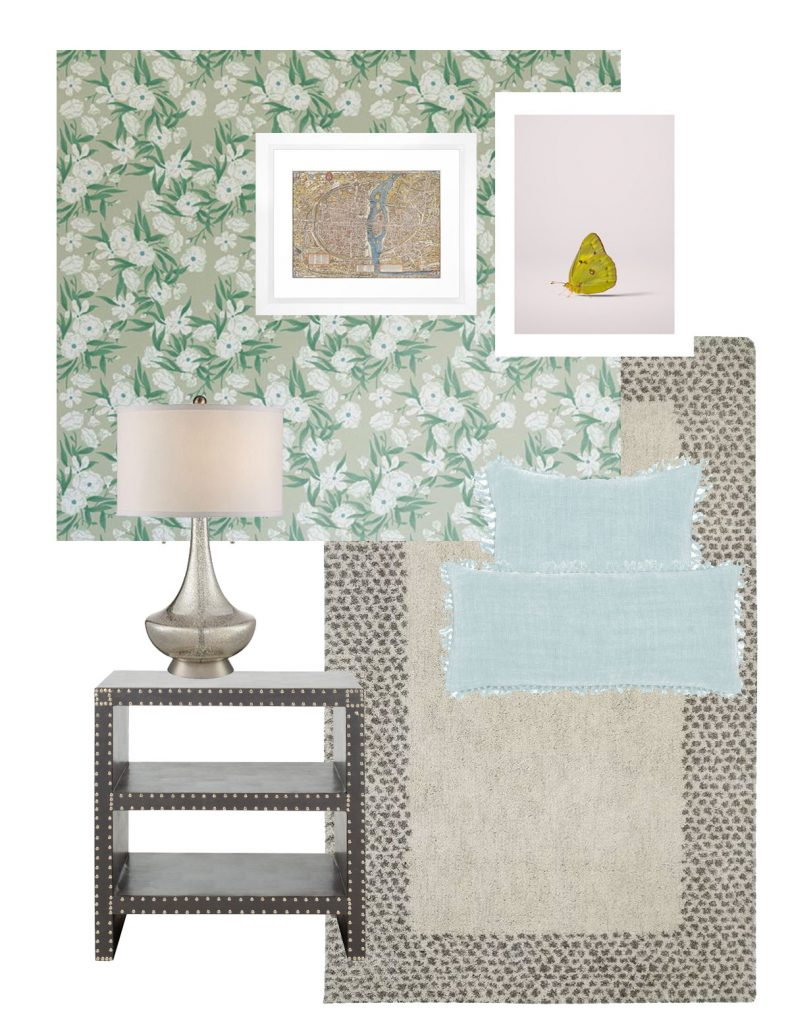 Corell Apartment Design - Nina's Bedroom Board