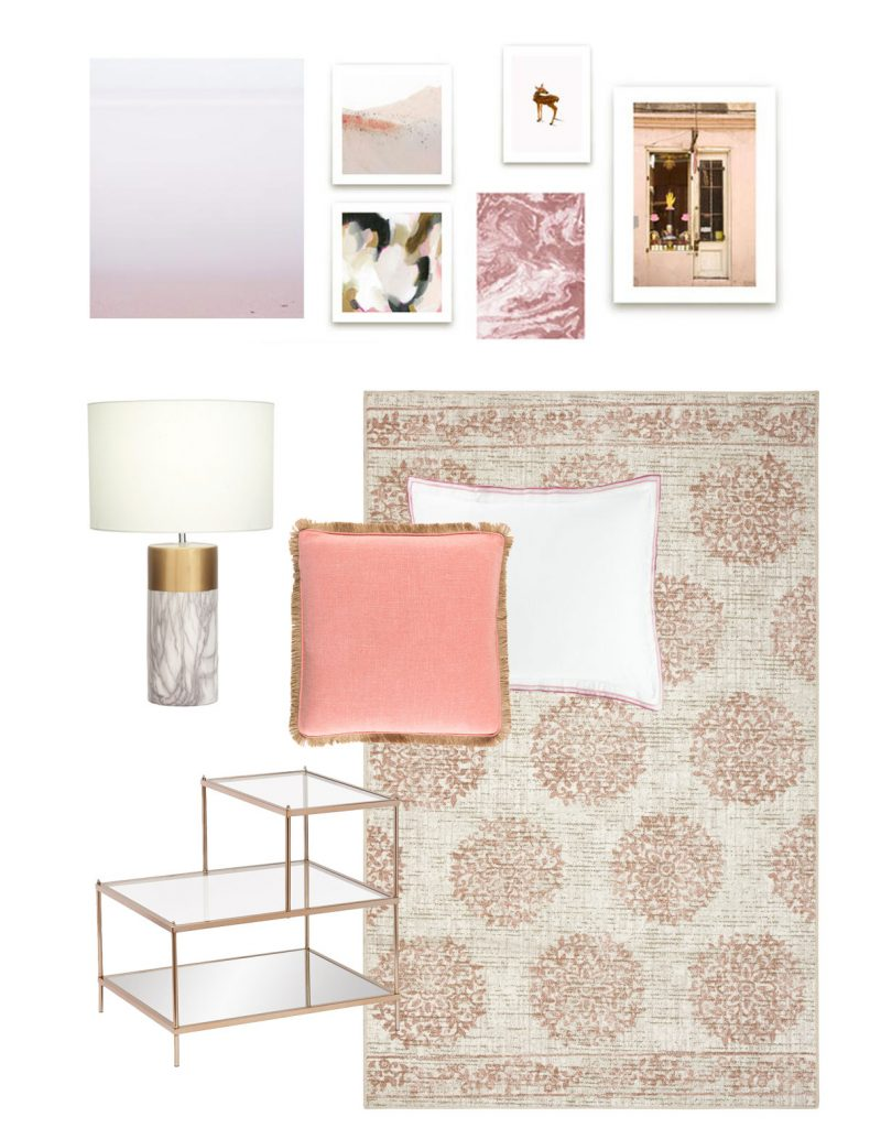 Corell Apartment Design - Olivia's Bedroom Board