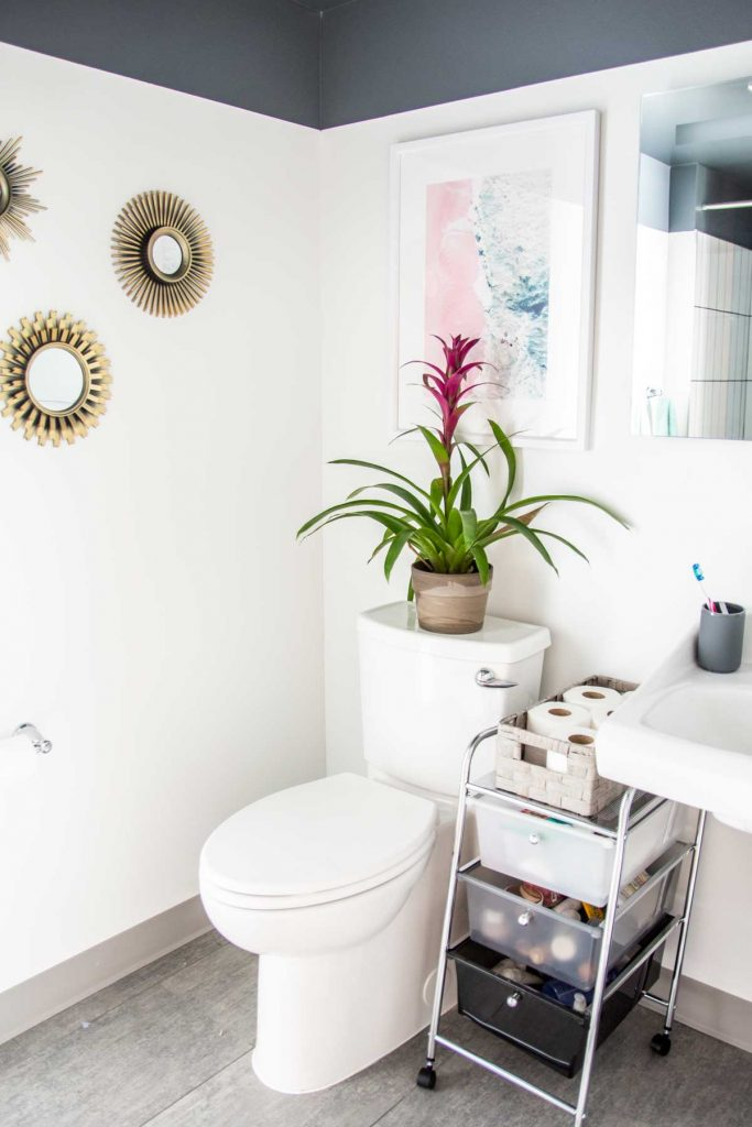 Updating & Organizing an Apartment Bathroom - Thou Swell