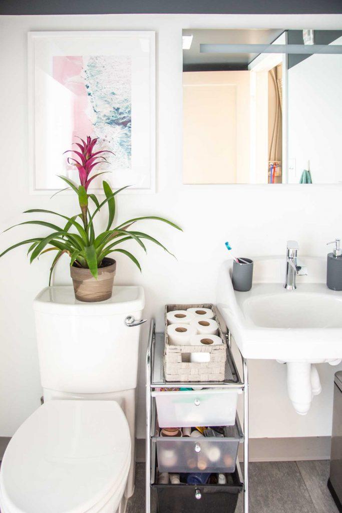 Updating & Organizing an Apartment Bathroom - Thou Swell on Bathroom Ideas Apartment  id=25911