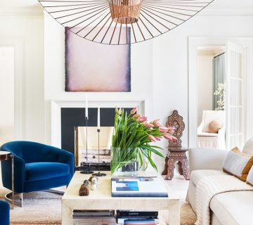 Fresh Atlanta living room designed by Meredith McBrearty on Thou Swell @thouswellblog