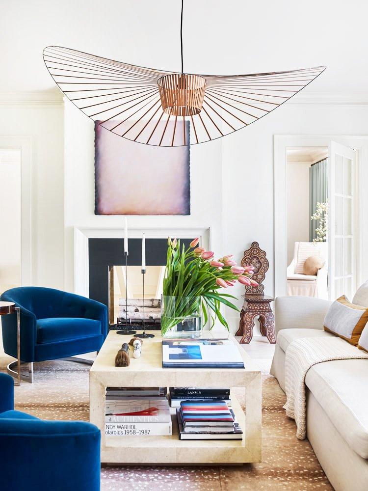 Fresh Atlanta living room designed by Meredith McBrearty on Thou Swell @thouswellblog