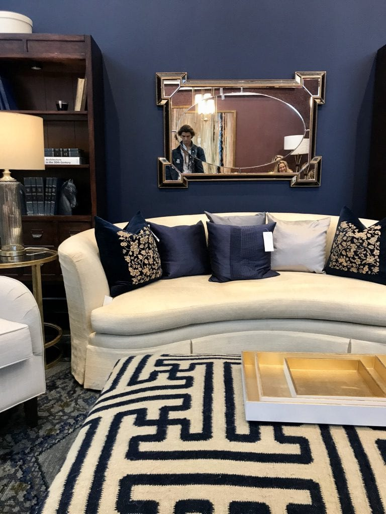 Surya showroom at High Point Market with the Design Bloggers Tour 2018 on Thou Swell @thouswellblog