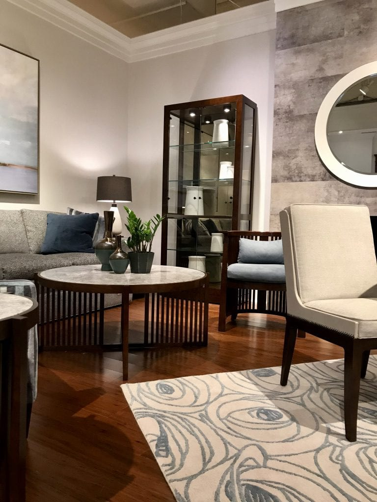 Stickley showroom at High Point Market with the Design Bloggers Tour 2018 on Thou Swell @thouswellblog