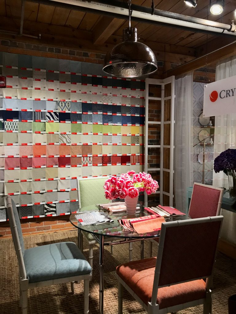 Crypton Home Fabric at High Point Market with the Design Bloggers Tour 2018 on Thou Swell @thouswellblog