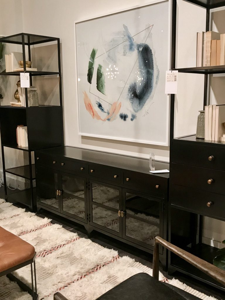 Four Hands showroom at High Point Market with the Design Bloggers Tour 2018 on Thou Swell @thouswellblog