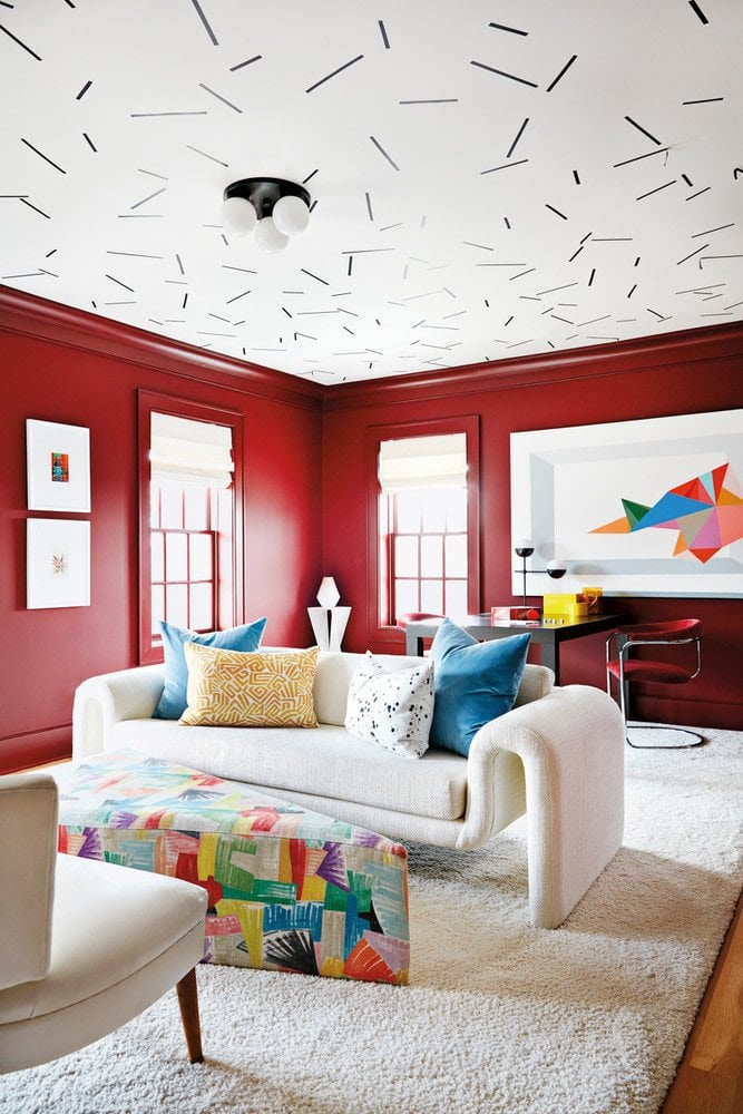 inside a color-filled home outside of Atlanta on Thou Swell @thouswellblog