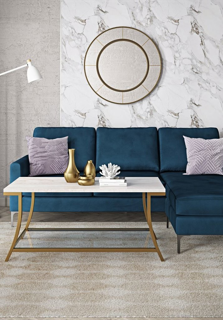 Novogratz reversible sectional by DHP on Thou Swell @thouswellblog