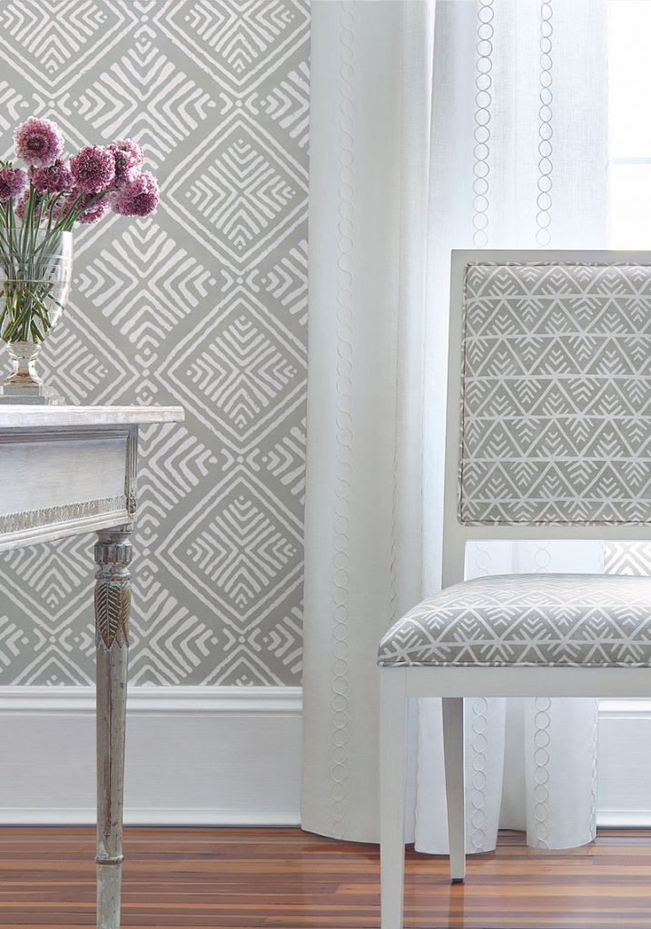 Anna French Palampore fabric collection for Thibaut Design on Thou Swell @thouswellblog