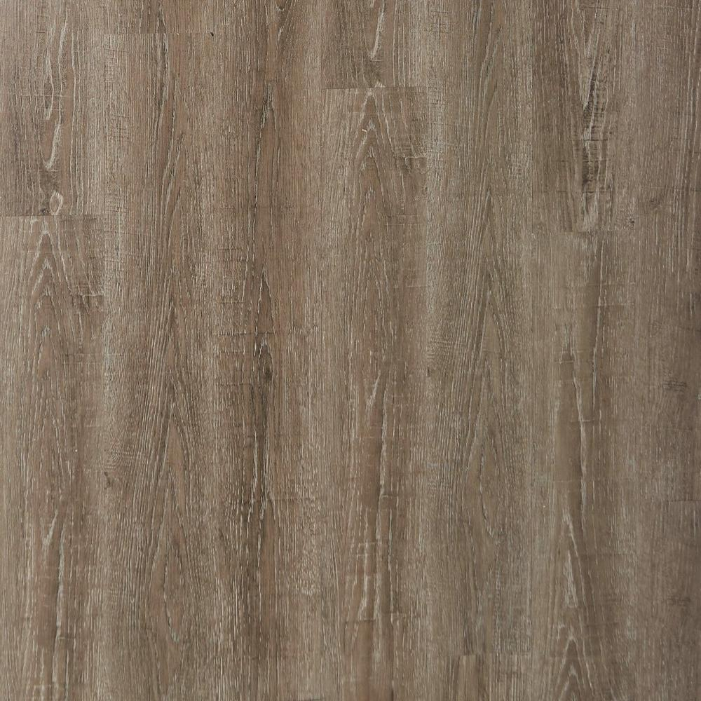 Floor & Decor luxury vinyl plank flooring with Duralux weathered charcoal on Thou Swell @thouswellblog