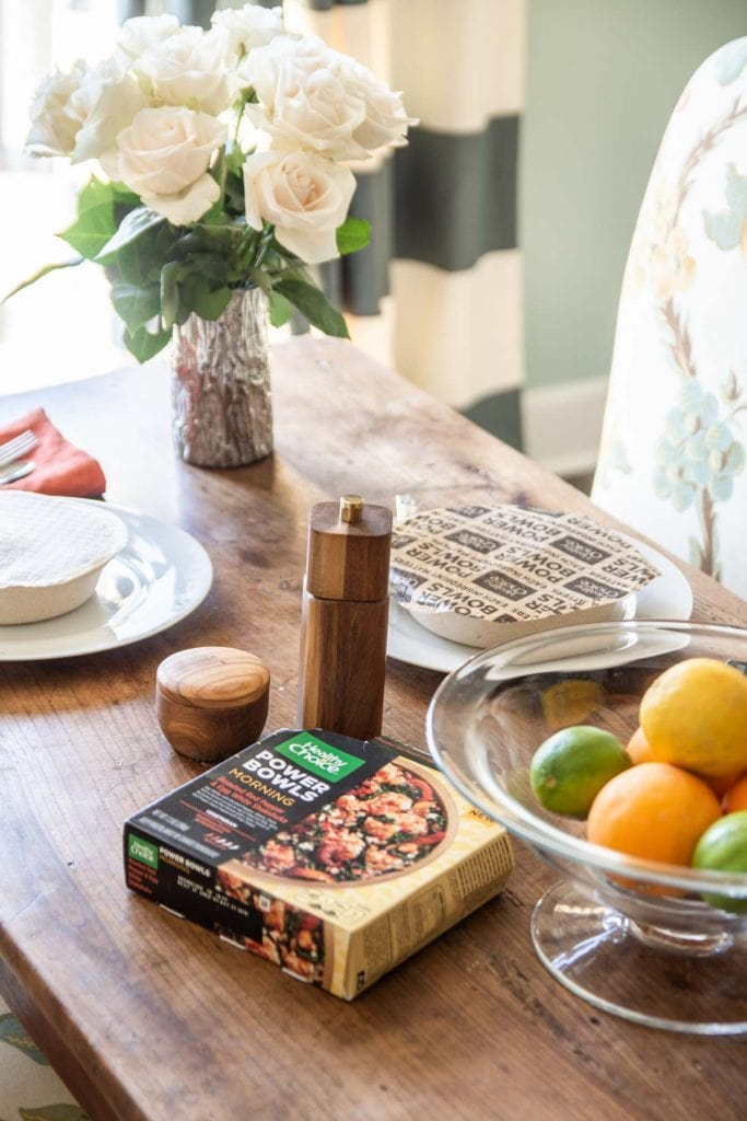 Healthy mornings in the New Year with morning and plant-based bowls from Healthy Choice on Thou Swell @thouswellblog