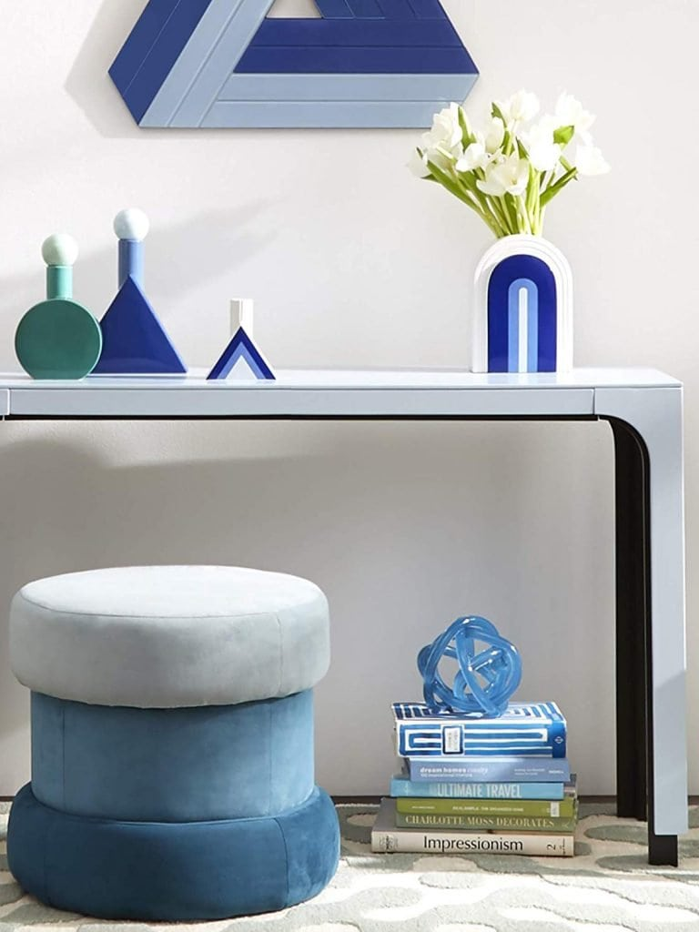 Jonathan Adler Now House Collection for Amazon Home bright, modern, and graphic furniture and decor on Thou Swell @thouswellblog