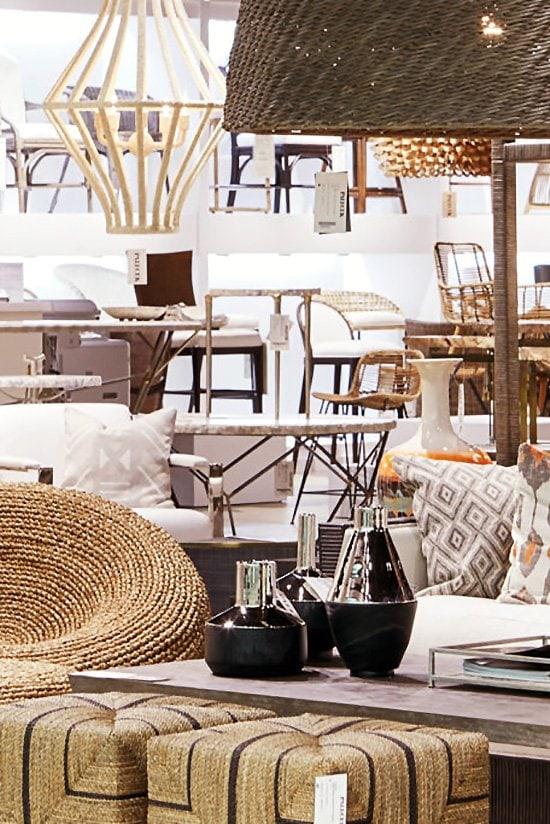 Dallas Market Center home design furniture showroom on Thou Swell #furnituremarket #furnituredesign #showroom
