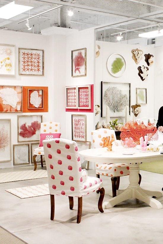 High Point Market home design furniture showroom on Thou Swell #furnituremarket #furnituredesign #showroom