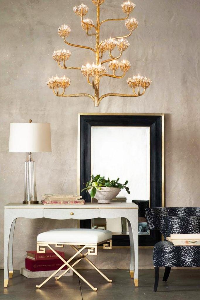 Las Vegas Market home design furniture showroom on Thou Swell #furnituremarket #furnituredesign #showroom