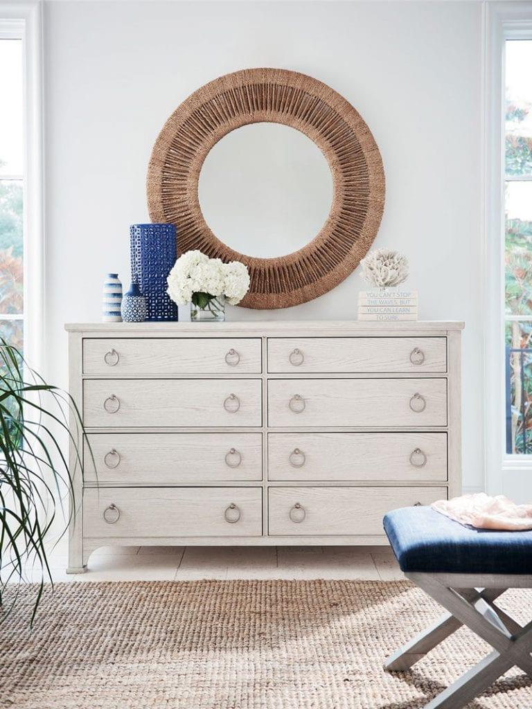 Coca Mirror by Coastal Living for Universal Furniture on Thou Swell @thouswellblog #homedecor #coastaldecor #coastalliving
