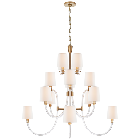 Clarice Chandelier by Julie Neill for Circa Lighting on Thou Swell #homedecor #lighting #lightingdesign