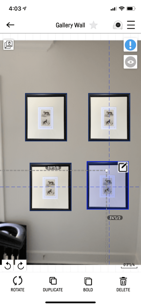 GALLERY WALL MADE EASY WITH PLOTT CUBIT 4