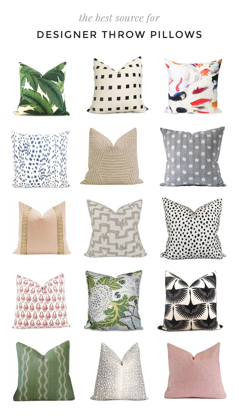 The best designer throw pillows on Etsy #homedecor #decor #throwpillows #pillows #designer #interiordesigner #interiordesign #designerpillows #custompillows