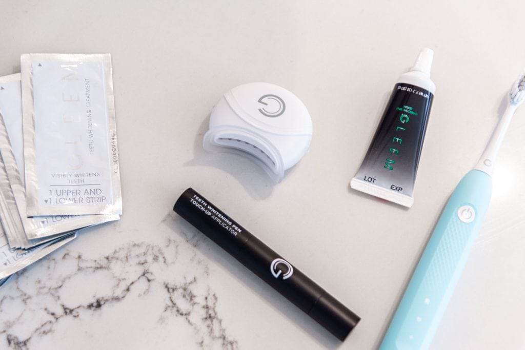 Gleem Oral Care Teeth Whitening Review Thou Swell