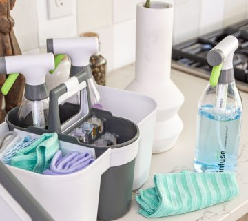 Infuse refillable cleaning system from Target on Thou Swell #clean #cleaning #ecocleaning #ecofriendly #cleaningtips #cleaninghacks #refillablecleaning #ecofriendlyclean