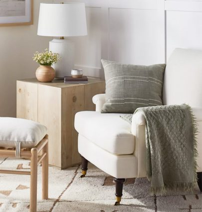 The new McGee Home for Target collection home decor with neutral textures and the modern farmhouse look on Thou Swell #mcgeehome #targethome #targetdecor #decor #homedecor #homedesign #homedecorideas #homedesignideas #interiordesign