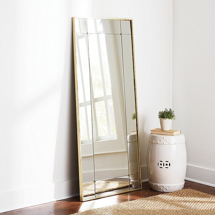 Gracie gold floor mirror from Ballard Designs on Thou Swell