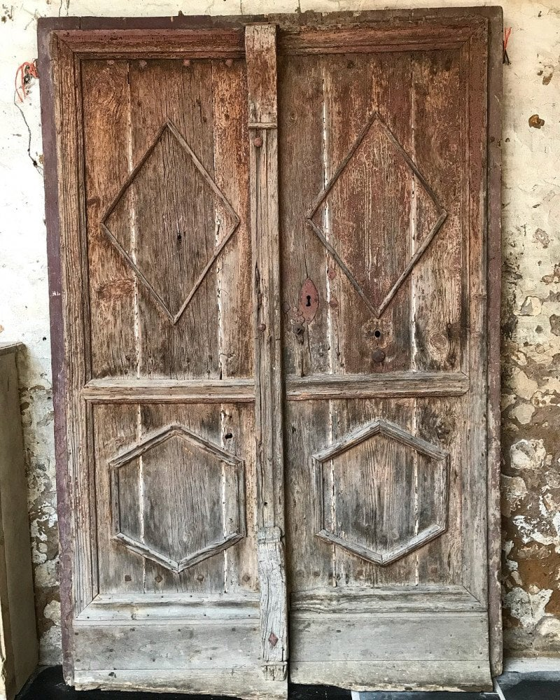 Antique 17th century French doors