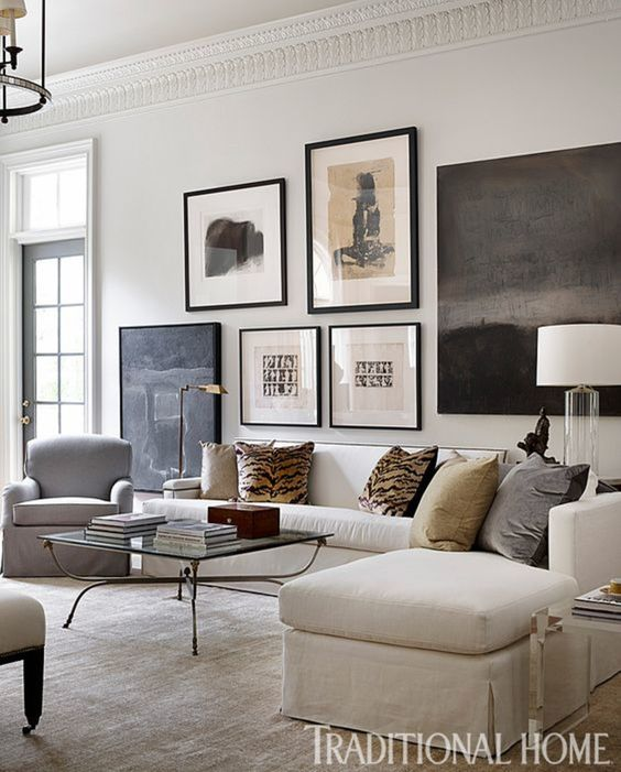 Living room by Robert Brown, neutral home decor inspiration on Thou Swell #livingroom #homedecor #homedecorinspiration #decor #decorating #interiordesign