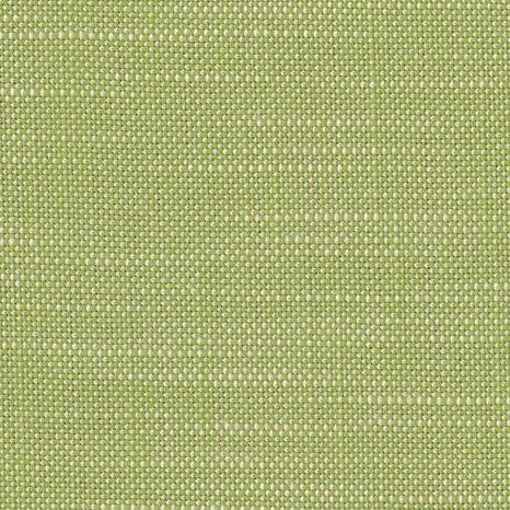 Green linen performance fabric by Perennials