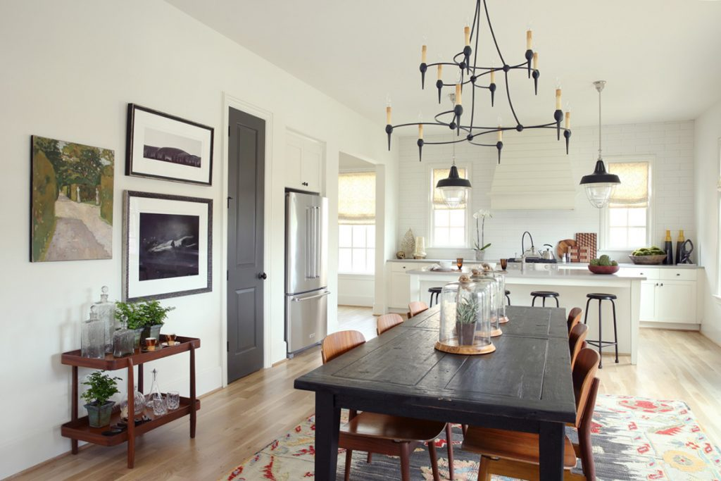 Telfair dining room and kitchen by Hedgewood Homes