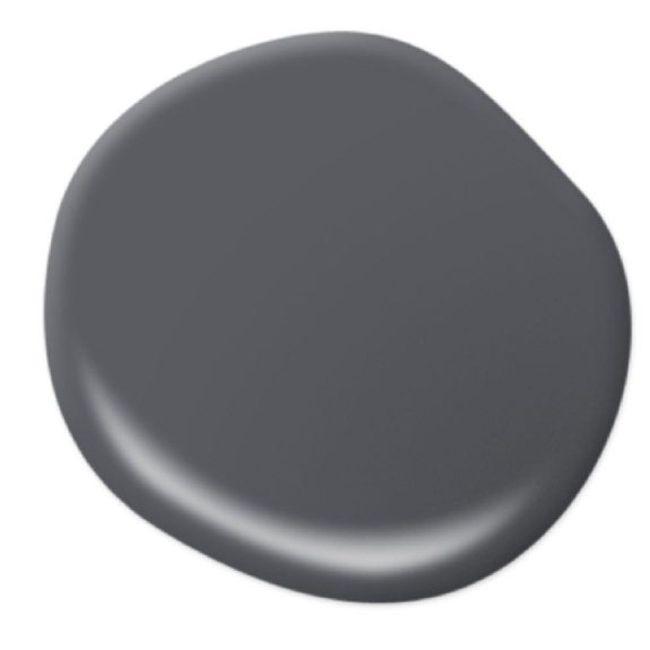 Behr Pencil Point dark grey, gunmetal grey, warm grey paint color