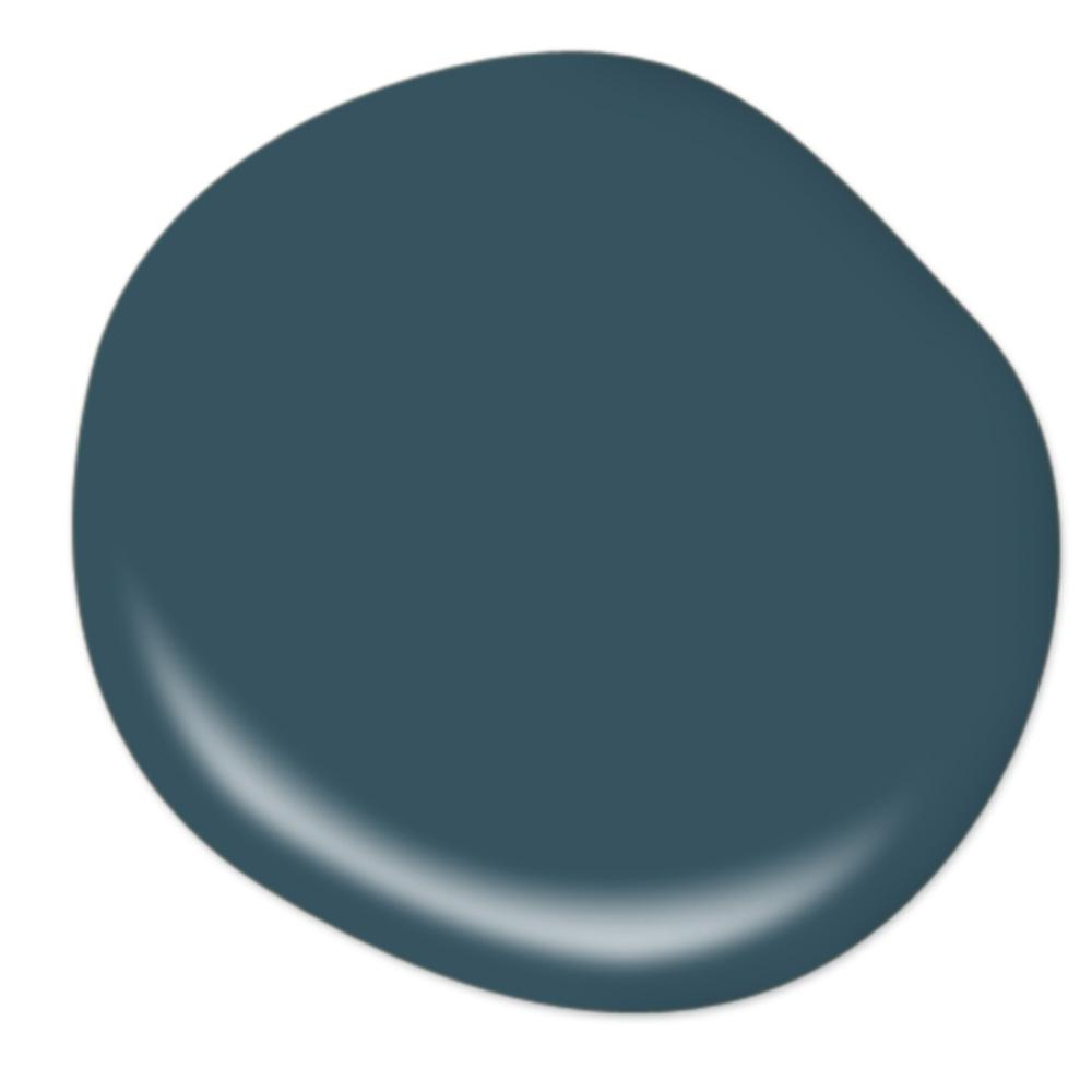 Behr Opera Glasses dark midnight blue paint color