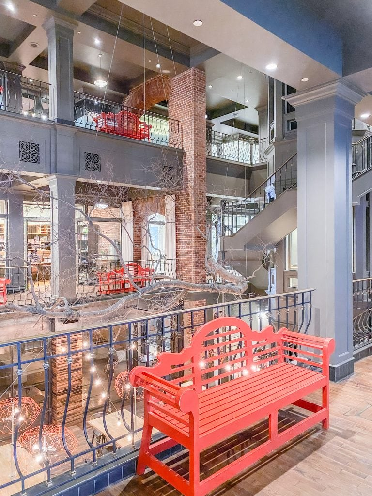Warehouse Row reclaimed factory building shopping mall in Chattanooga city guide weekend tour on Thou Swell #chattanooga #chattanoogaguide #cityguide #travelguide #travel