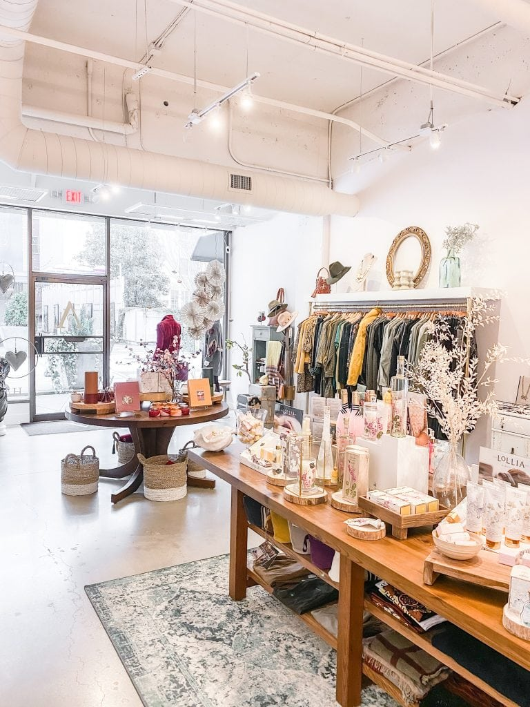 Antibes boutique store in Chattanooga city guide weekend tour on Thou Swell #chattanooga #chattanoogaguide #cityguide #travelguide #travel