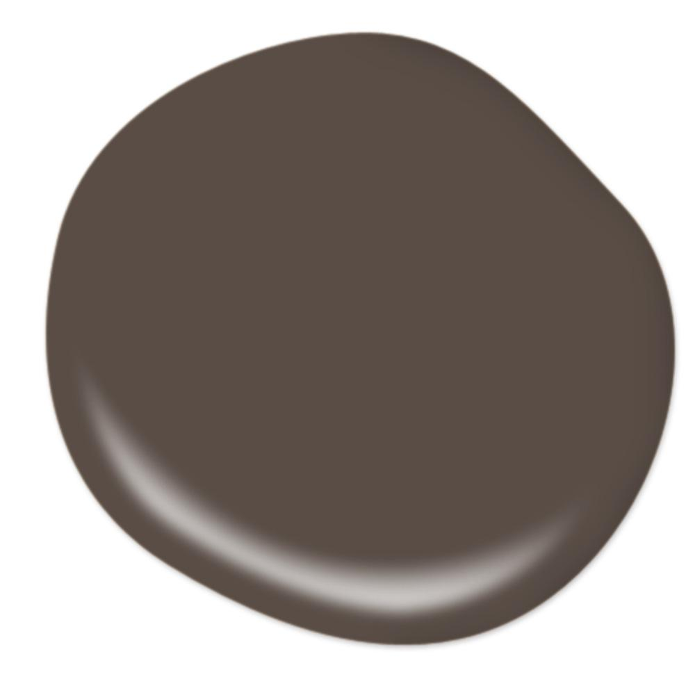 Behr Dark Truffle, best chocolate brown wall paint color, paint color ideas on Thou Swell #darktruffle #behrpaint #paintcolors #wallpaint #paintideas #brownpaint