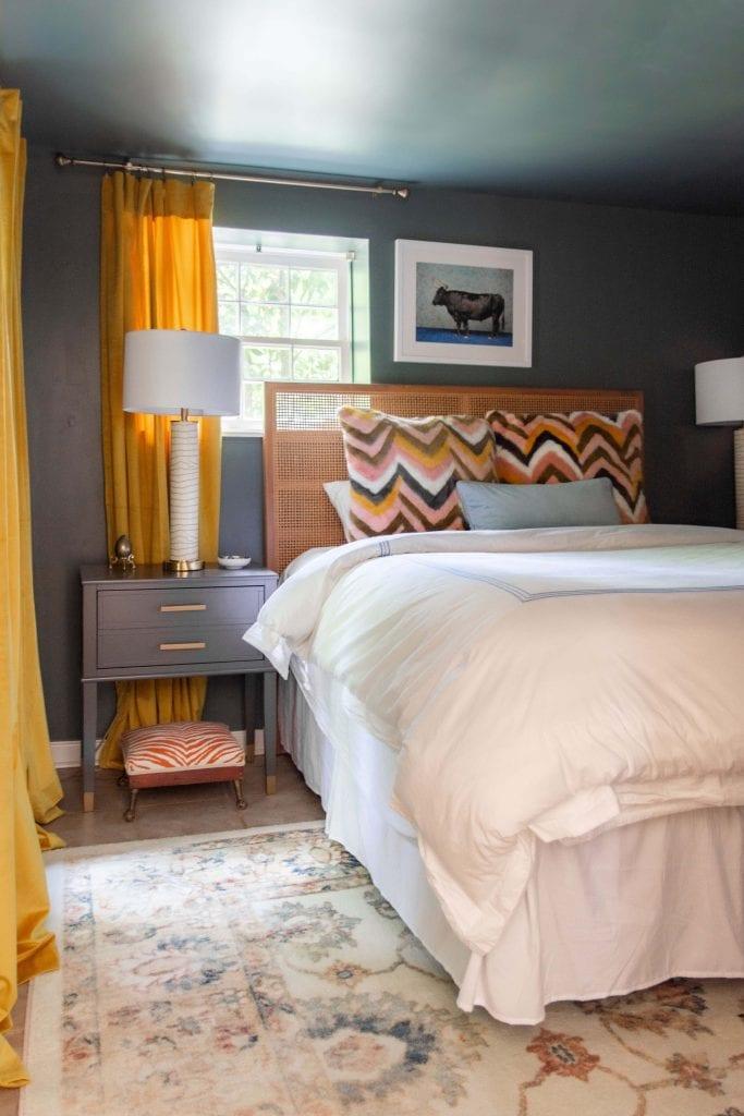 Terrace Drive Project - colorful apartment tour, rental decor, home decor ideas, eclectic home tour on Thou Swell #apartmentdecor #eclectichometour #eclecticdecor #decor #decorating #homedesign